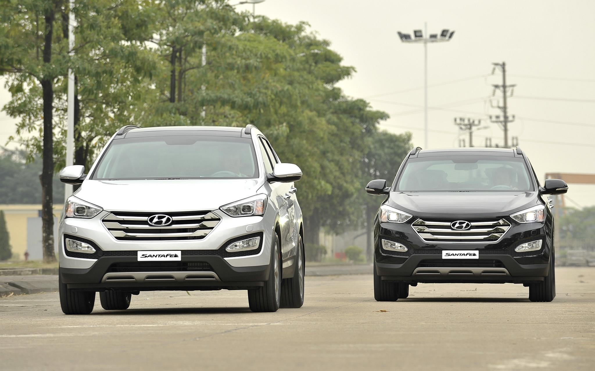 Hyundai Thành Công khuyến mại 3 mẫu xe SantaFe, Avante và Elantra 5