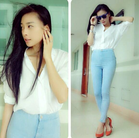 4 trang phục hè không thể thiếu trong tủ đồ sao Việt 9
