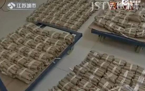 Đại gia dùng xe tải chở 600kg tiền xu đi mua nhà 7