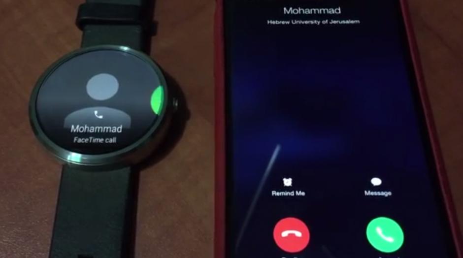 Android Wear bị hack để sử dụng cho iPhone 5