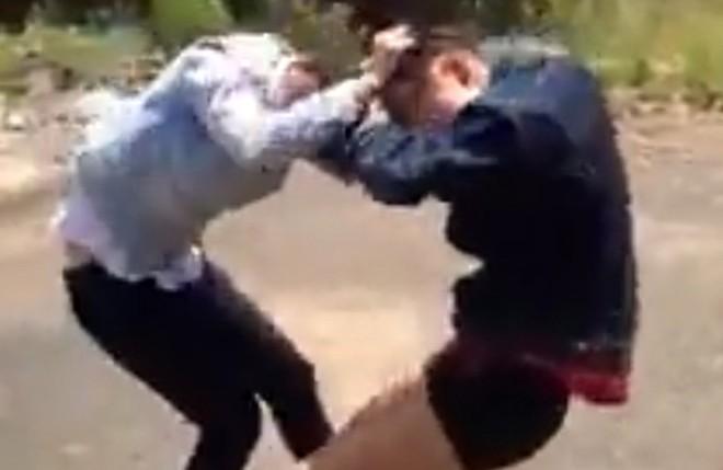 Nữ sinh đánh nhau ngất xỉu giữa đường: Công an vào cuộc 5