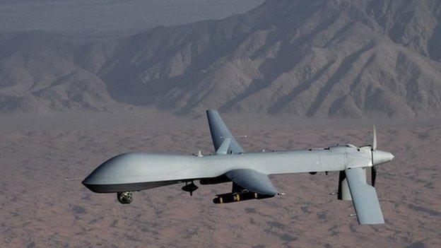 Syria tuyên bố bắn rơi UAV Mỹ 6