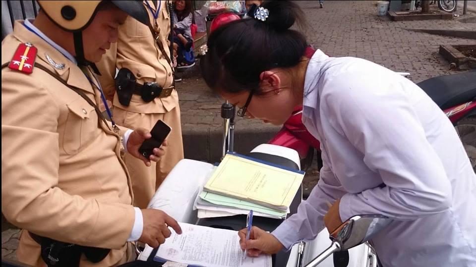 Phạt nguội qua Camera: Nhiều tài xế chối lỗi, không ký biên bản 5