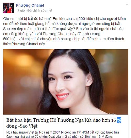Loạt sao Việt tố Hoa hậu Phương Nga lừa đảo 5