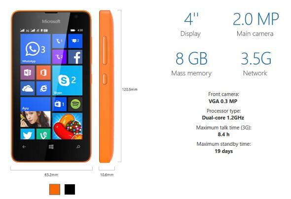 Lumia 430: Smartphone Lumia rẻ nhất từ trước đến nay 6