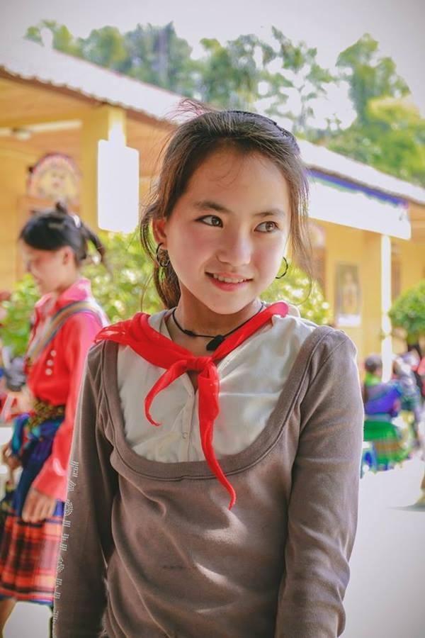 Vẻ đẹp thiên thần của em gái Mông gây sốt mạng xã hội 6