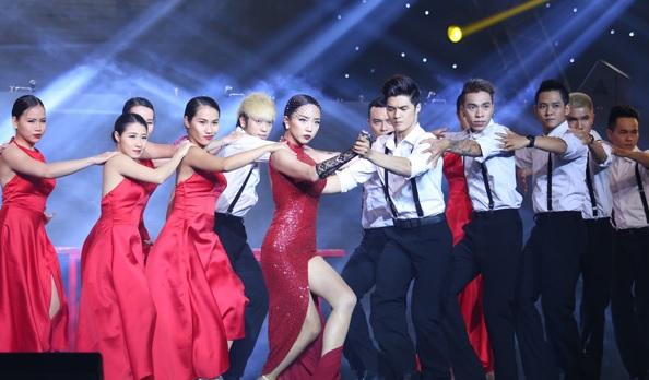 Tóc Tiên - cô gái 'nổi loạn', gợi cảm nhất The Remix 2015 7