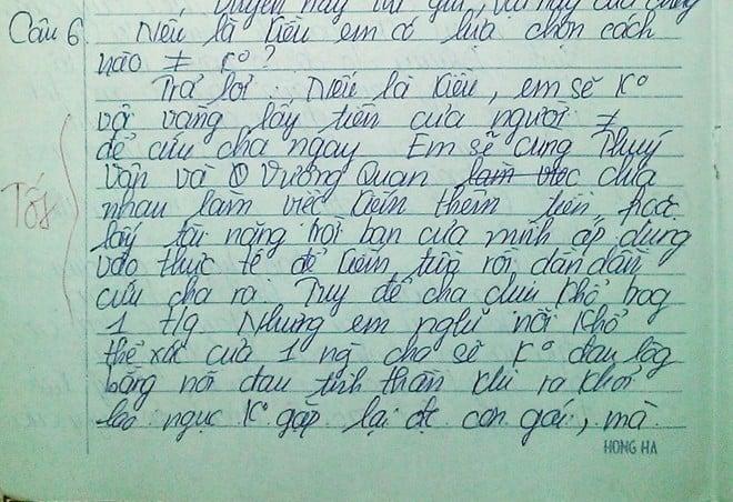 """Những bài văn """"bá đạo"""" của học sinh cấp ba  6"""