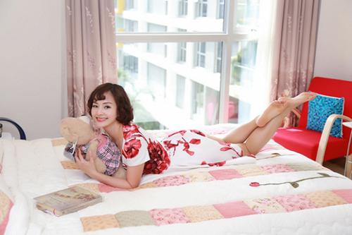 Đột nhập căn hộ giản dị của Lan Phương và Hoa hậu dân tộc Ngọc Anh 7