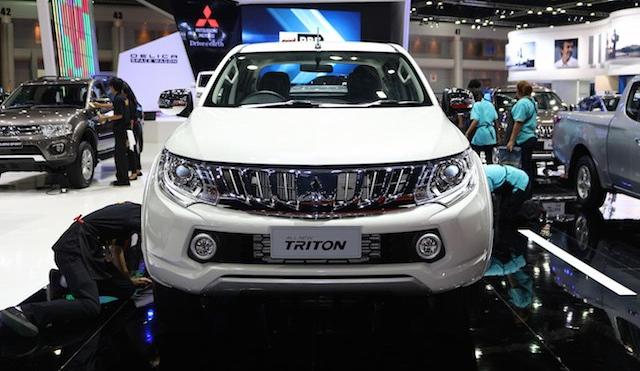 Hình ảnh Mitsubishi Triton thế hệ mới ra mắt, cuối năm sẽ về Việt Nam số 1