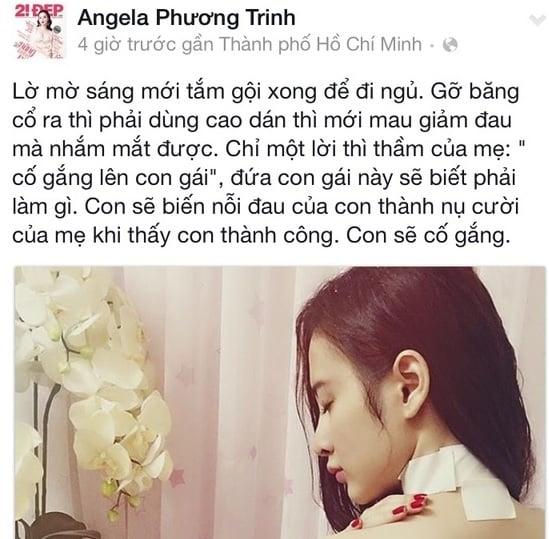 Hình ảnh Angela Phương Trinh tiếp tục gây bão sau sự cố bị chấn thương số 1