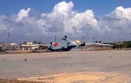 Máy bay quân sự MI8 rơi ở Bình Thuận, nhiều người bị thương 4