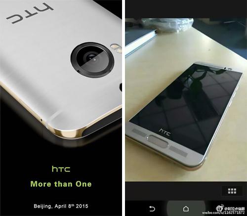 Mô hình HTC One M9+ có cảm biến vân tay xuất hiện 4