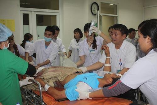 Sập giàn giáo KCN Formosa, Hà Tĩnh: Bộ Y tế ra công văn hỏa tốc 5