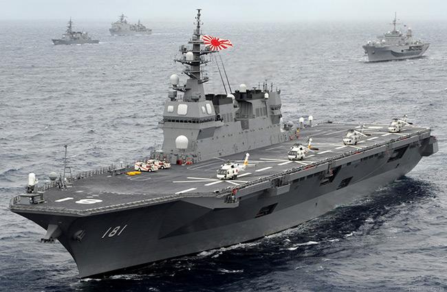 Tàu sân bay lớn nhất của Hải quân Nhật đi vào hoạt động 5