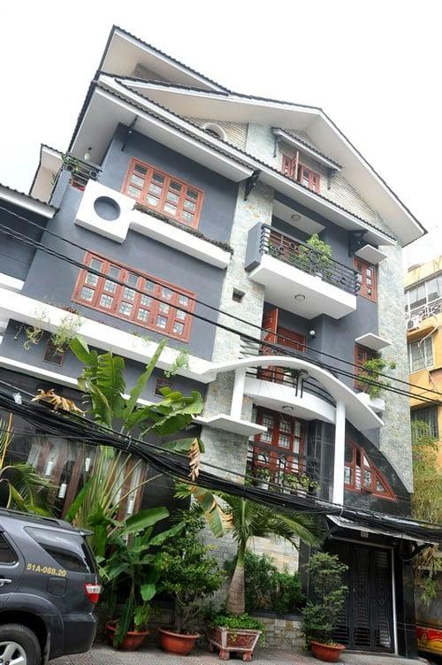 Biệt thự mặt phố triệu đô của vợ chồng Lý Hải - Minh Hà 4