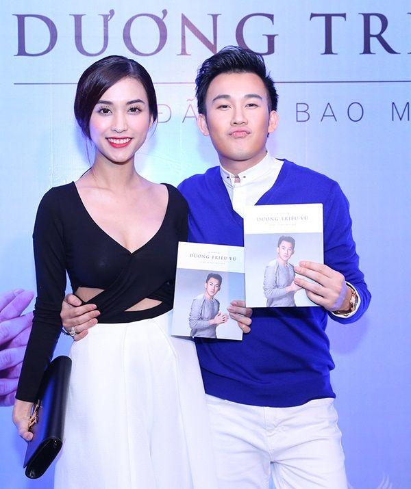 Mai Hồ 'hở táo bạo' tới mừng Dương Triệu Vũ ra mắt album 6