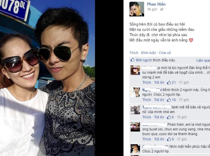 Chồng tin đồn kém 12 tuổi của Khánh Thi công khai ảnh tình cảm 4