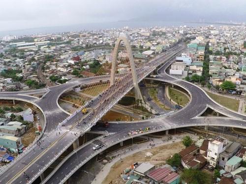 Ngắm cầu vượt 3 tầng lớn nhất Việt Nam  4