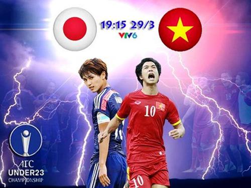Link SOPCAST trực tiếp U23 Việt Nam vs U23 Nhật Bản lúc 19h15 ngày 29/3 1