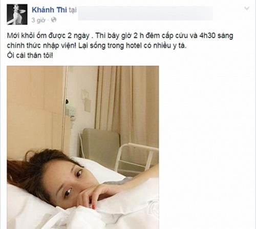Facebook sao Việt 30/3: Xuân Lan lên tiếng ủng hộ chuyện tình của Khánh Thi 4