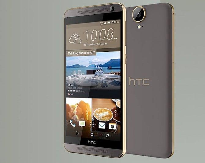 HTC lặng lẽ công bố phablet One E9+ màn hình 2K 4