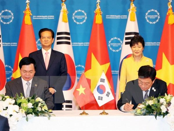 Việt Nam và Hàn Quốc ký hiệp định thương mại tự do 4