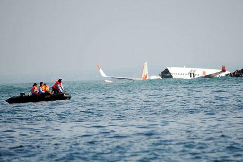 Cảnh sát biển xác minh thông tin máy bay rơi tại quần đảo Trường Sa 1