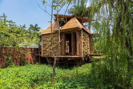 Nhà bằng tre độc đáo ở Việt Nam đoạt giải Quốc tế 1