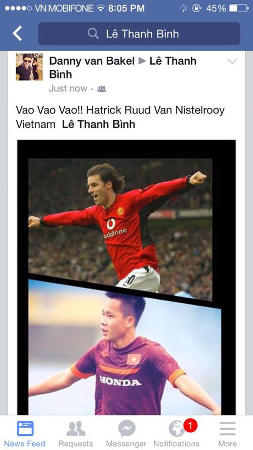 Lập hat-trick, tiền đạo U23 Việt Nam được ví như huyền thoại M.U 2