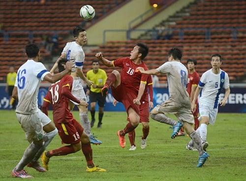 Lập hat-trick, tiền đạo U23 Việt Nam được ví như huyền thoại M.U 1