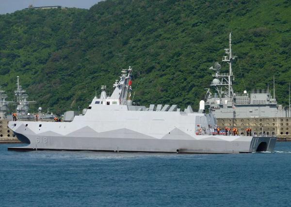 """Công nhân Việt Nam đóng tàu tên lửa tàng hình """"khủng"""" cho Đài Loan 1"""
