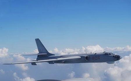 Trung Quốc lần đầu đưa máy bay ném bom H-6 tới Tây Thái Bình Dương 1