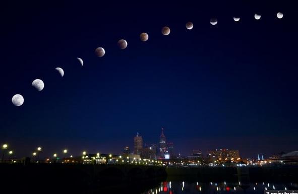 """10 sự thật thú vị về """"Mặt trăng máu"""" ngày hôm nay 2"""
