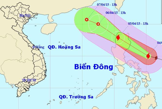 Bão Maysak suy yếu nhanh khi vào Biển Đông 2
