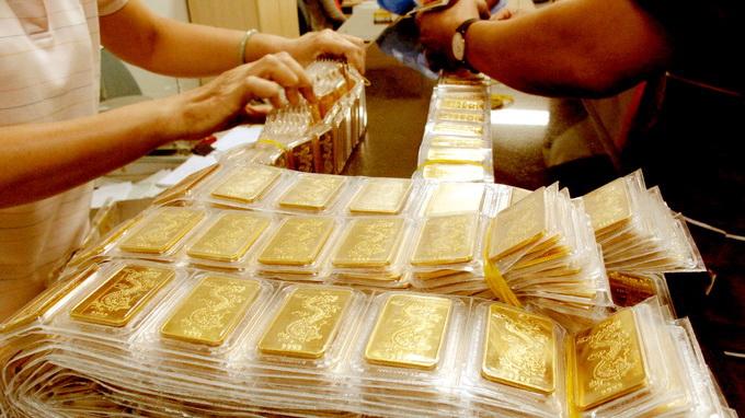 Giá vàng 6/4: Vàng SJC tăng 30.000 đồng/lượng 1