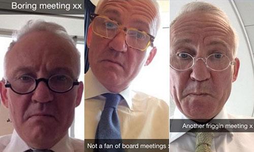 Sếp lớn ngân hàng mất việc sau khi than phiền chán họp với con gái 1