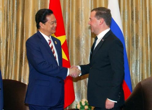 Thủ tướng Nguyễn Tấn Dũng trả lời phỏng vấn Hãng thông tấn Itar-Tass 1