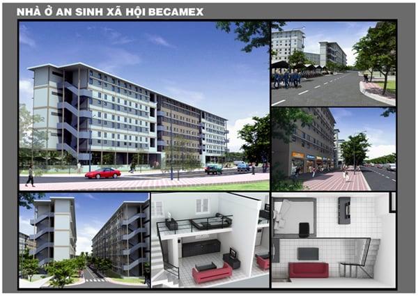 Hình ảnh Tận mục thiết kế bên trong căn hộ 100 triệu đồng ở Bình Dương số 3