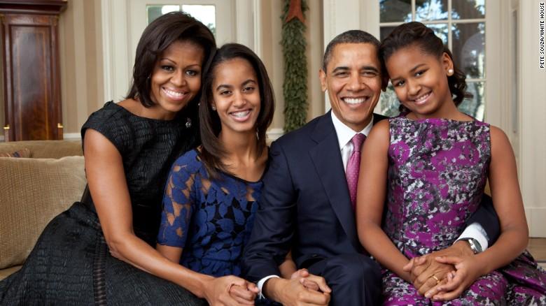 Nhà Trắng tiết lộ ảnh chân dung mới nhất của gia đình Tổng thống Obama 3
