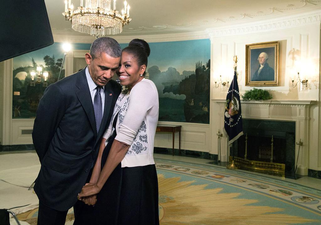 Nhà Trắng tiết lộ ảnh chân dung mới nhất của gia đình Tổng thống Obama 4