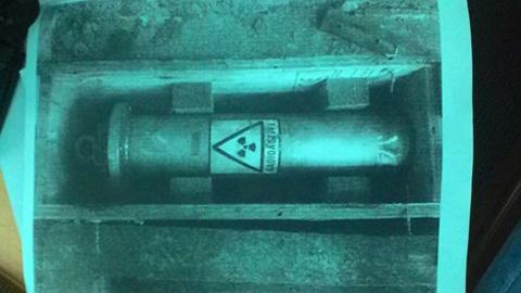 Thiết bị phóng xạ bị thất lạc: