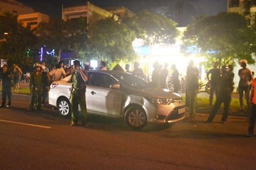 Đà Nẵng: Tài xế say xỉn gây tai nạn, chửi CSGT 1