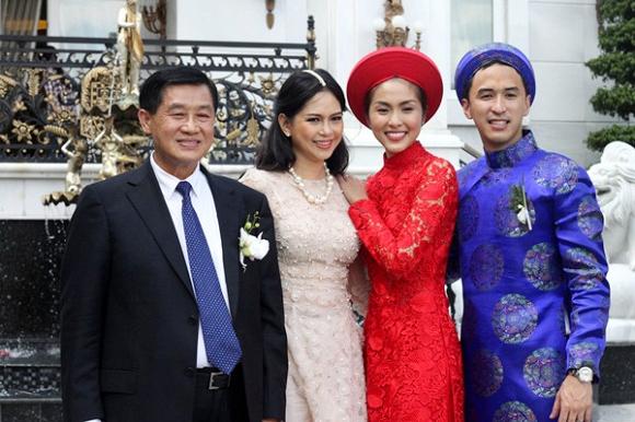 Gia thế quyền lực của nhà chồng Tăng Thanh Hà 1