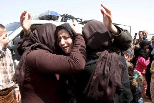 IS bất ngờ phóng thích hơn 200 tù nhân Yazidi 2