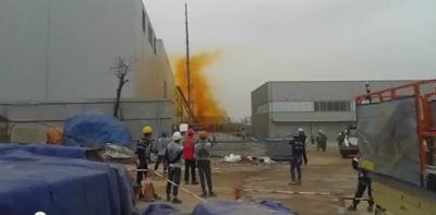 Thực hư vụ Sam Sung Thái Nguyên rò rỉ hóa chất công nhân bỏ chạy 1