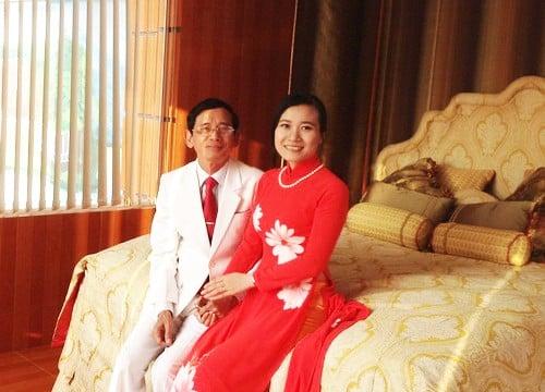 """Đại gia Lê Ân khen vợ trẻ: """"Vợ tôi có cái tâm tiên chứ không phải tâm người"""" 1"""