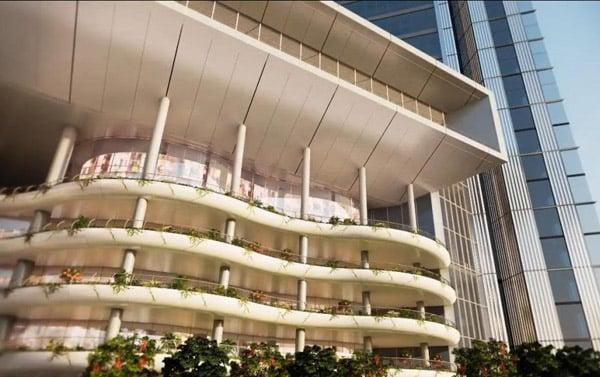 Hình ảnh Ngắm tòa tháp đôi cao thứ 2 Hà Nội 8000 tỉ của đại gia Vietinbank số 9