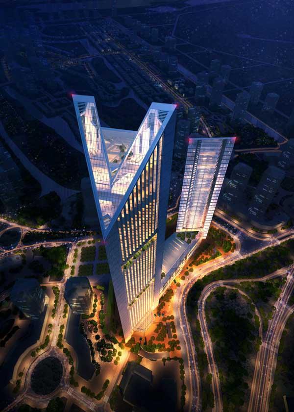 Hình ảnh Ngắm tòa tháp đôi cao thứ 2 Hà Nội 8000 tỉ của đại gia Vietinbank số 7