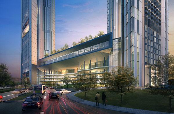 Hình ảnh Ngắm tòa tháp đôi cao thứ 2 Hà Nội 8000 tỉ của đại gia Vietinbank số 4